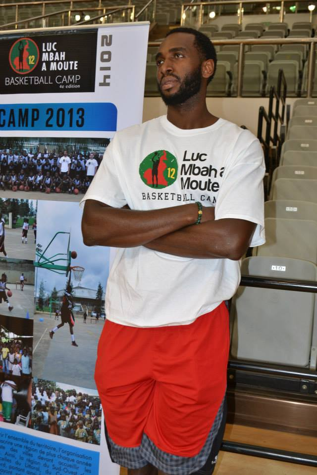 Luc Mbah a Moute Camp 2014