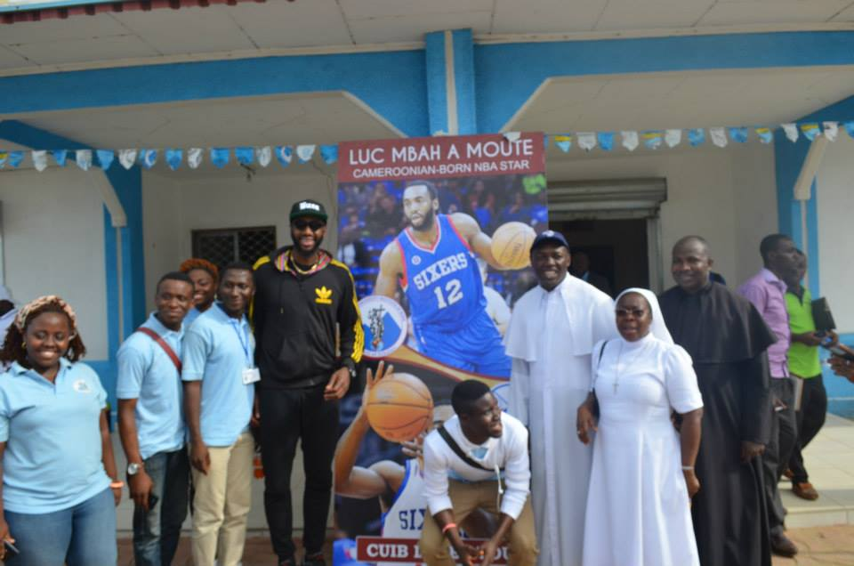 Mbah a moute Basket ball Camp 2015