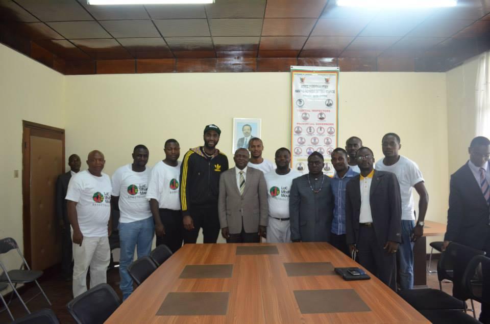 visite de courtoisie chez le Gouverneur de la région du Sud-Ouest, M. Okalia Bilaï.